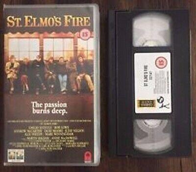 173 VHS  St Elmo's Fire - Emilio Estevez Rob Lowe DEMI MOORE  segunda mano  Embacar hacia Argentina