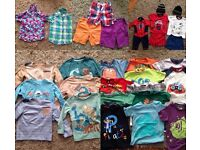 Bundle of boys 2-3 years clothes