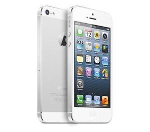 White Apple iPhone 5 32GB - Bell