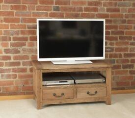 Rustic Manor TV Media Cabinet. 105cm wide. (Carlton Furniture)