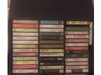 Collection of 120 cassette tapes: Random From80s:90s