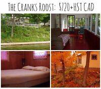 Beautiful Crow Lake Cottage Rental