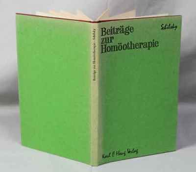 Beiträge Zur Homöotherapie - Collection Puplikationen V. Dr. ,Schilsky 1966/S196