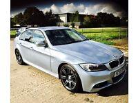 ★ NEW IN ★🌟★ BMW 3 SERIES 2.0 318D M-SPORT ★ MOT AUG 17 ★ SERVICE HISTORY ★ KWIKI AUTOS ★