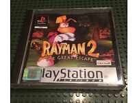 PlayStation 1 boxed game, ps1 with manual