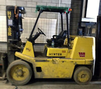 HYSTER FORKLIFTS - $20,000 EACH