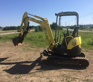 2011 Yanmar Vio 20, pouce, quick attache, zero tail swing.