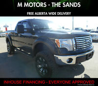 2012 Ford F-150 XLT Lifted ''WE FINANCE EVERYONE''