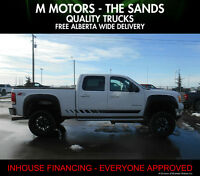 2012 GMC  2500 SLT Lifted Duramax ''WE FINANCE EVERYONE''