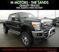 """2011 Ford F-350 Lariat 6""""lifted Diesel '' WE FINANCE EVERYONE''"""