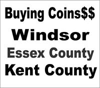Buying...Coins...Jewelry...Top Prices....519-819-1805..Get Extra