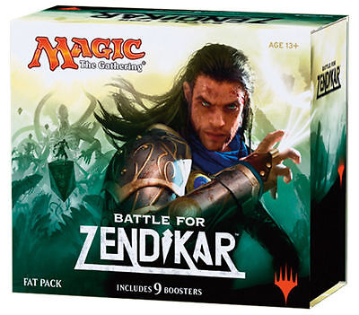 Battle for Zendikar Fat Pack mtg Magic the Gathering NEW, used for sale  Shipping to Canada