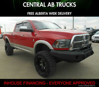 2011 Ram 3500 Laramie Diesel Lifted ''WE FINANCE EVERYONE''