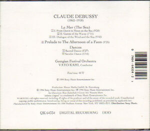 Claude Debussy - La Mer (The Sea), Prelude to The Afternoon of a West Island Greater Montréal image 2