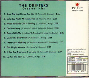 The Drifters Greatest Hits West Island Greater Montréal image 2