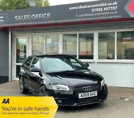 image for 2009 Audi A3 TFSI S LINE SPECIAL EDITION HATCHBACK Petrol Manual