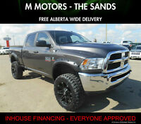 2014 Ram 2500  Custom Lifted Diesel ''WE FINANCE EVERYONE''