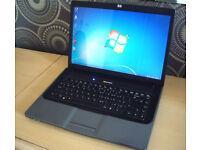 "HP Laptop Intel 2.8GHz, BIG 15.4"" WideScreen - DVD-RW - USB - Wireless Internet - Full Working Order"