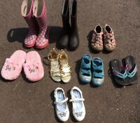 Children's shoes and Boots including Bogs