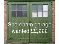 Garage wanted Shoreham by Sea Town Centre - cash paid