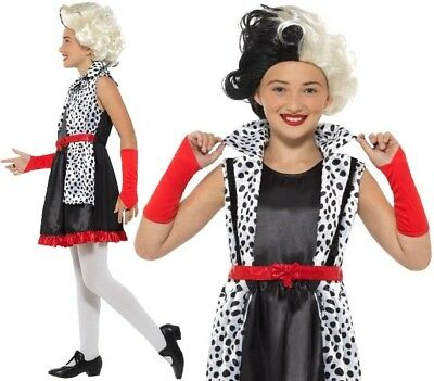 Kinder Kostüm Evil Madame Mädchen Büchertag Cruella Kostüm - Cruella Kostüm Kind