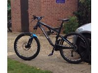 Bergamont Downhill Bike Used Twice NEW RRP £2,700!