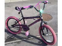 Kids Hello Kitty BMX bike