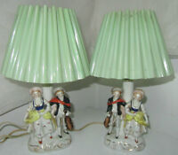 2 Beautiful Vintage Lamps with shades