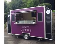 10 x 6 Crepe Catering Trailer