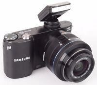Samsung NX1000 20.1 mpx with 20-50mm lens