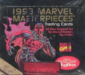 MASTERPIECES (MARVEL) .... SERIES 2 .... 1993 sealed box (comic)