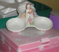 Vintage Snowlady Candy/Nut/Pickle etc Dish