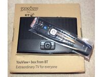 BT YouView+ Box Humax DTR-T2100 500GB PVR Freeview+ HD