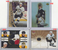 cartes de hockey avendres en lot ou individuel -partie 1 de 2