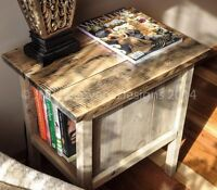 RECLAIMED WOOD WINE RACK -SHELF- STORAGE-TRAY-TABLE- GIFT