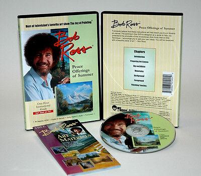 BOB ROSS, DVD Teaching, SUMMER REFLECTIONS, An Oil Painting, BRAND NEW,