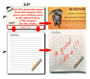 Fridge Note Pads Magnetic Notepad The Best Gift for Any Occasion