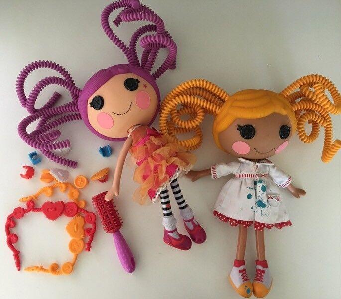 La La Loopsey 2 Full Size Dolls and accessories