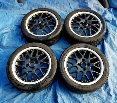 "Volkswagen Polo BBS 15"" Alloy Wheels PCD 4x100mm 6Jx15 ET45 195/45R15 6N0601025J"