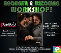Bachata & Kizomba Workshop & ALL IN PARTY at Panamania