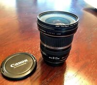 Canon EF S 10-22mm wide angle lens.