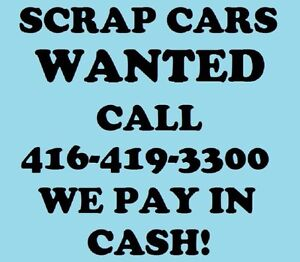 $100+ for Scrap Cars - Capital Towing INC. 416-419-3300