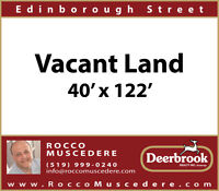 BUILDING LOT CENTRALLY LOCATED