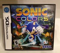 Nintendo DS Game: Sonic Colors