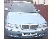 Rover 45 Auto. Low Milage