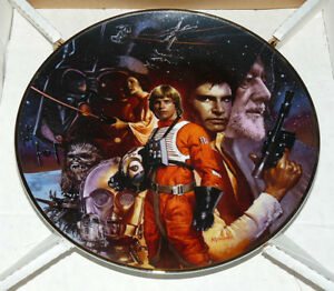 Star Wars Trilogy Hamilton Collection Plate (1992)
