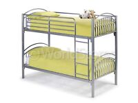 Silver Metal bunkbeds