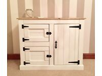 NEW-Rustic Country Shabby Chic Pine Sideboard***£109***FREE DELIVERY