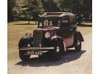 1938 Austin Big Seven Sixlite