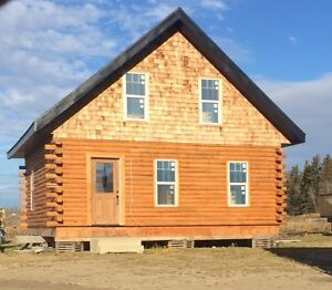 Cozy log cabin-Ready to move!